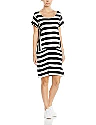 Roxy Women's A-Line Dress (ARJKD03076_Classic Stripe True Black_M)