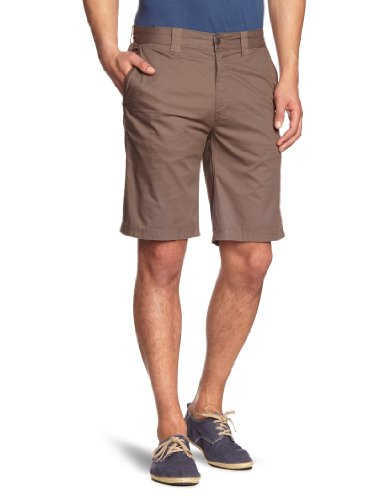 Columbia - Pantaloni corti classici EU Cooper da uomo, 100% cotone, verde (Major), 38/10 Inch