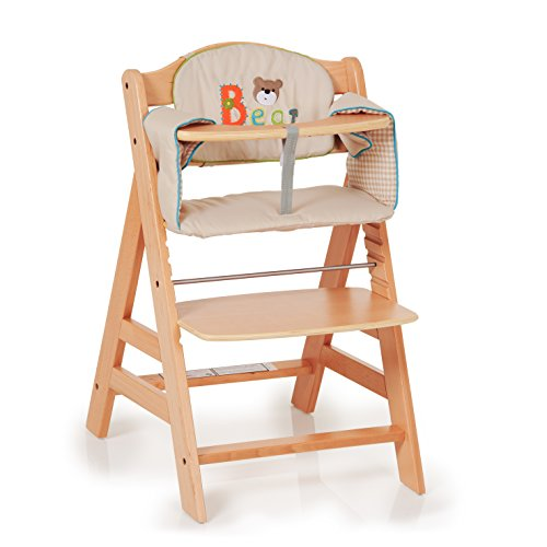 hauck alpha padded comfort highchair seat cushion bear ebay. Black Bedroom Furniture Sets. Home Design Ideas
