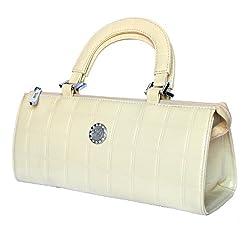 StonKraft Womens Shoulder Bag (White)