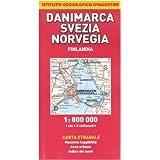 Danimarca, Svezia, Norvegia, Finlandia 1:800.000 (Carte stradali estero)