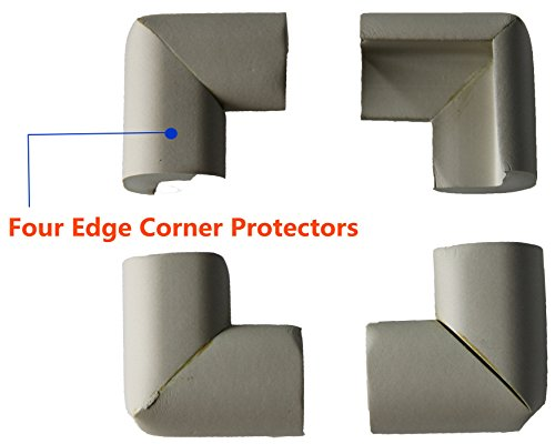 Extra Thick Extra Pure Furniture Table Edge Protectors (6.5ft) with 4 ...
