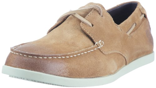 Timberland Men's Cl 16 Boat Tan Sde Shoes 26589 Tan Waxy Suede 0 14.5 UK