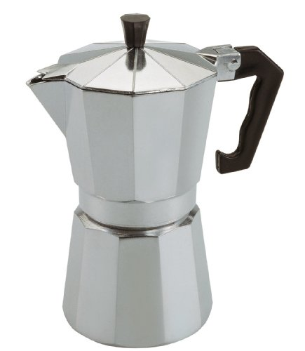 Caroni VE03116 12-Cup Monti Aluminum Stove Top Espresso Coffee Maker