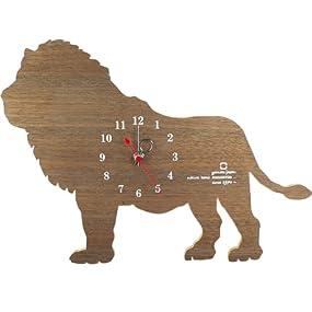 SHADOW W アニマルクロック ライオン YK10-104-lion <38171>