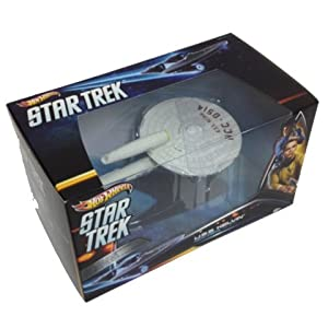 Game / Play Hot Wheels Collector Star Trek USS Kelvin. Figure, Model, Replica, Ship, Toy, Display, Action Toy / Child / Kid