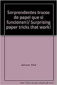 Sorprendentes trucos de papel que si funcionan!/ Surprising paper