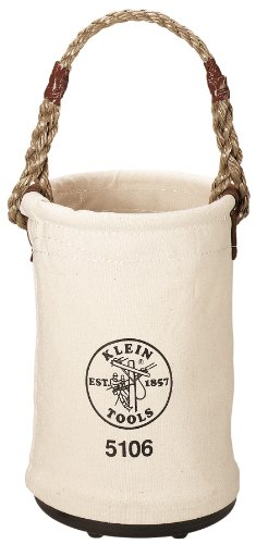 Klein Tools 5106 6 Canvas Straight-Wall Bucket