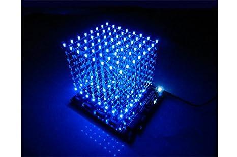 Cube 8x8x8 Squared 8x8x8 Led Cube