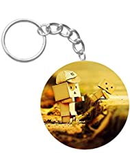 Helping Love | ShopTwiz Printed Circle Key Ring