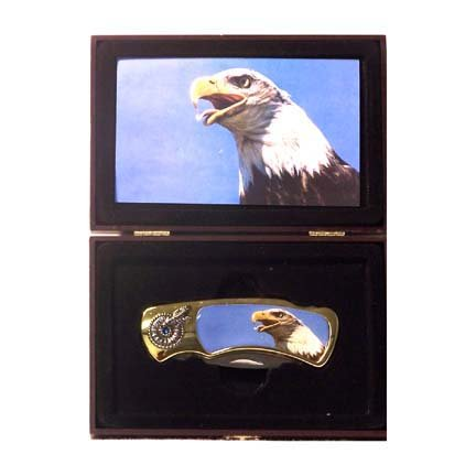 Deluxe Eagle Gift Knife