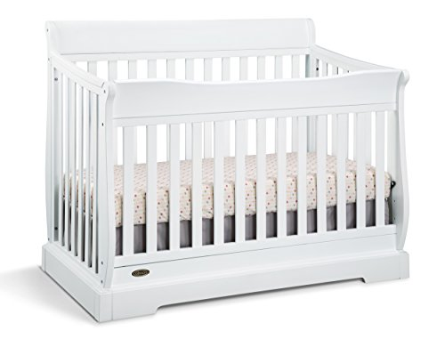 Graco Maple Ridge 4-in-1 Convertible Crib, White