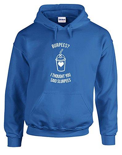 burpees-i-thought-you-said-slurpees-gedruckt-hoody-pullover-konigsblau-weiss-2xl-127-132cm