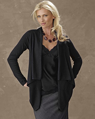 Silk Cashmere Cardigan Sweater 2X OR 3X
