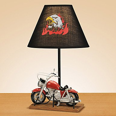 RayShop - Halley Motorcycle Style Table Lamp ( Voltage : 220-240V )