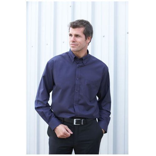 Dickies Workwear Mens Long Sleeve Cotton/Polyester Oxford Shirt