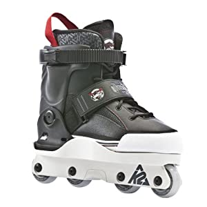K2 Sports Varsity Aggressive 2012 Inline Skates(Black Red) by K2