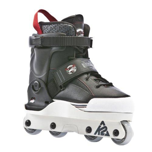 K2 Sports Varsity Aggressive 2012 Inline Skates(Black/Red)