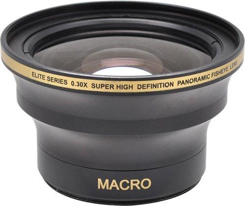 0.30x Fish-Eye WEITWINKEL VORSATZKONVERTER Objektive mit MAKROLINSE (für 52mm, 58mm, Anschlussgewinde) für Canon EOS 1D, 1D X, 1D S, 5D, 5DS, 5DS R, 6D, 7D, 10D, 20D, 30D, 40D, 50D, 60D, 70D, 100D, 300D, 350D, 400D, 450D, 500D, 550D, 600D, 650D, 700D, 750D, 760D, 1000D, 1100D, 1200D 1D, 5D, 7D, (Mark II, III, IV, Mark 2, 3 4) /// Nikon 3000, D3100, D3200, D3300, D5000, D5100, D5200, D5300, D5500, D7000, D7100, DF, D3, D3S, D3X, D4, D40, D40x, D50, D60, D70, D70s, D80, D90, D100, D200, D300, D600