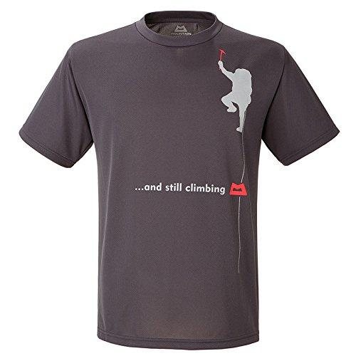 マウンテン・イクィップメント マウンテンエキップメント MOUNTAIN EQUIPMENT Quick Dry Tee ? Still Climbing 423742  C02 Charcoal Tシャツ 軽い クライミング トレッキング チャコールグレー M【Mens】