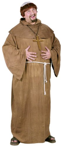 Fun World Costumes Men's Medieval Monk Costume