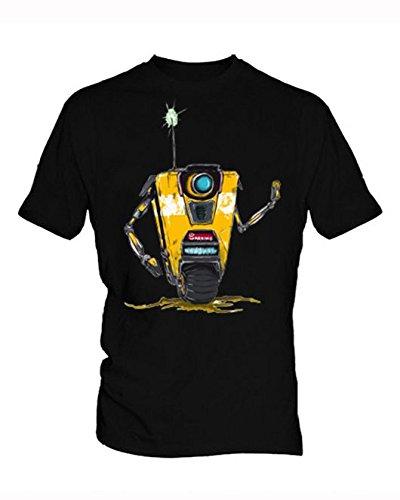 Borderlands 8 Uomo Black T Shirt