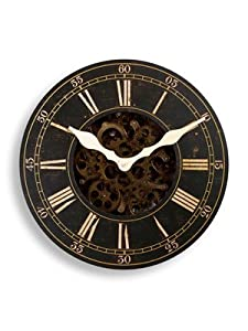 Outside In Designs 46cm Iron Bridge Mechanical Clock       Customer review and more information