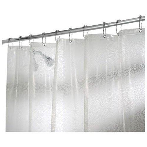 Rain PVC-freier EVA Duschvorhang, 183 x 183 cm - Durchsichtig