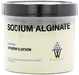 WillPowder Sodium Alginate, 16-Ounce Container