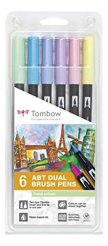 tombow-abt-6p-2-fasermaler-dual-brush-pen-mit-zwei-spitzen-6er-set-pastellfarben