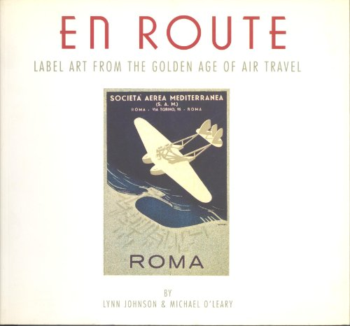 En Route Label Art from the Golden Age of Air Travel