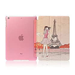 Eiffel Tower Design Flip Case Cover For Ipad Air /Ipad 5