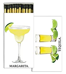 HomArt Matches - Margarita & Tequila (Set of 12)
