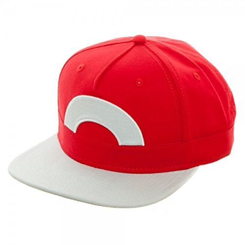 Pokemon Ash Character Snapback Hat (Red Pokemon Hat compare prices)
