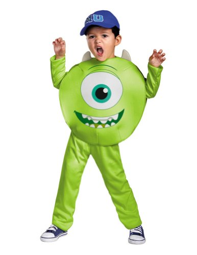 Baby-boys - Mike Toddler Costume Classic 3T-4T Halloween Costume