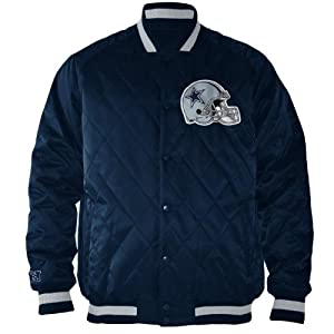Dallas Cowboys Fair Catch Quilted NFL Jacket by NFL Team Apparel
