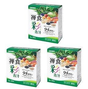 オリヒロ禅食彩青汁3g×30包お徳用 3箱セット
