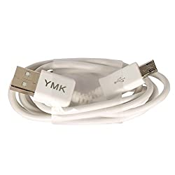 YMK Micro USB to USB High speed data transfer and Charging Cable for Micromax A300 Canvas Gold