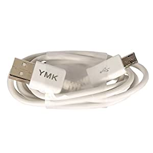YMK Micro USB to USB High speed data transfer and Charging Cable for LG G3 D855