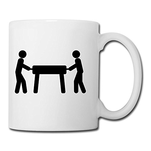Foosball Table Stick Figures Ceramic Cup Gift To Grandpa - 11oz