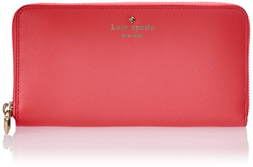 kate spade new york Cherry Lane Lacey Wallet,Surprise Coral,One Size