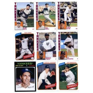 2012 Topps Archives New York Yankees Base Team Set -18 Cards Including Babe Ruth, Mickey Mantle, Berra, Rizzuto, Dimaggio, Hunter, Gehrig,Teixeira, Derek Jeter, Nova, Riveria, Pineda, Alex Rodriguez, Swisher, Cano, Sabathia, Granderson, & Gardner ships in