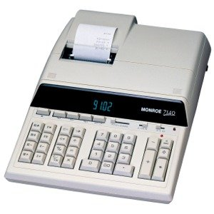 Monroe 7150 14 Digit - Desktop Print/Display (Office Machine / Calculators)