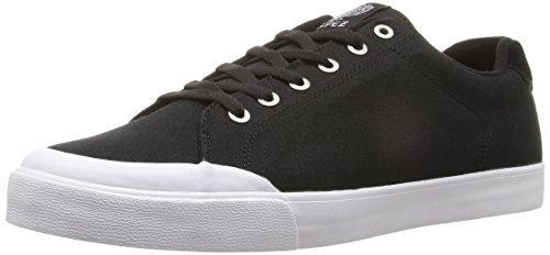 C1RCA Men's AL50R Skateboarding Shoe, Black/White, 13 M US