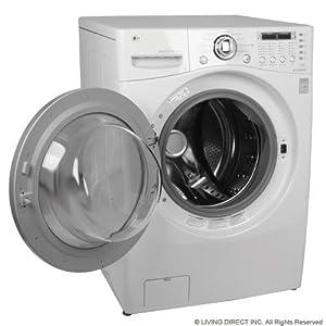lg wm3987hw 27 front load washerdryer combo 42 cu ft ultra