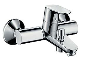 Hansgrohe WannenEinhebelmischer Focus Wandmontage mit Rückflussverhinderer, verchromt, 31940000  BaumarktKundenbewertung und Beschreibung