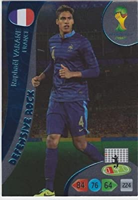 FIFA World Cup 2014 Brazil Adrenalyn XL Raphael Varane Defensive Rock