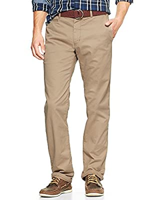 Gap Men Lived In Straight Khaki Size 38W 34L