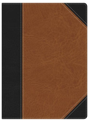 Holman Study Bible: NKJV Edition, Black/Tan LeatherTouch Indexed