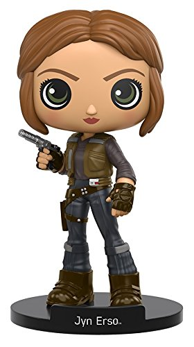 Funko Wobbler: Star Wars Rogue One - Jyn Erso Action Figure